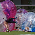 Freizeitsport: Hamburger Meisterschaften 2017 im Bubble Soccer.