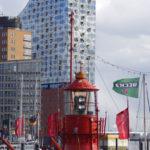 Neues Hamburger Wahrzeichen: die Elbphilharmonie im Hamburger Hafen.