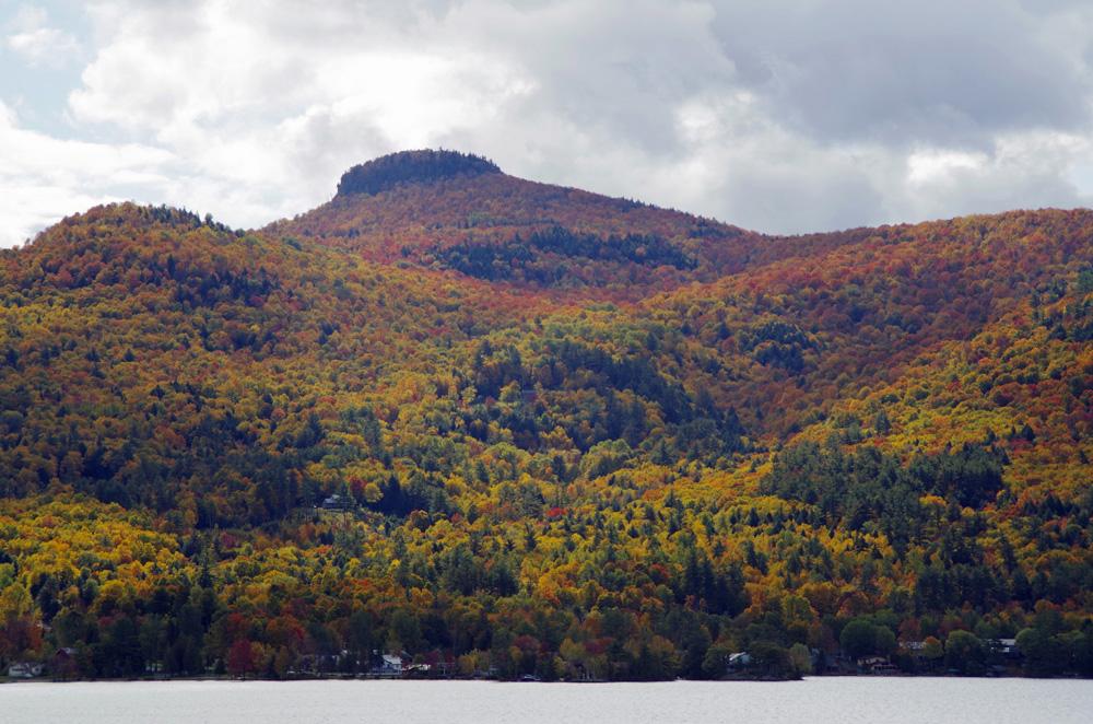 Herbststimmung am Lake George.