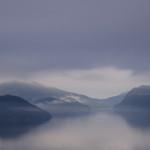 Morgenstimmung am Sandsfjord.