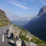 Der Trollstigen, Norwegens berühmteste Straße.