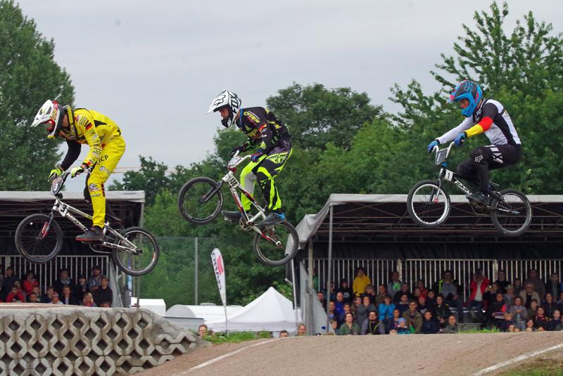 In Hamburg wurden die Deutschen Meister 2017 im BMX ermittelt.