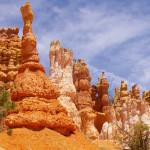 Sandsteinsäulen im Bryce Canyon.