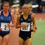 3000 Meter der Frauen bei den Hallen-Meisterschaften von Hamburg und Schleswig-Holstein.