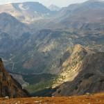 Blick vom Beartooth Pass.