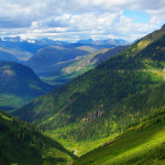Going-to-the-Sun Road - einer der schönsten Pässe in den Rocky Mountains.