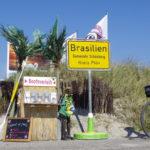 Strandabschnitt Brasilien an der Ostsee.