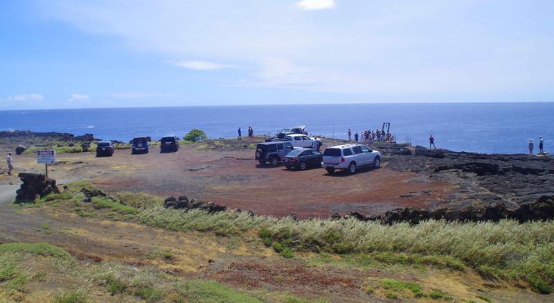 Der südlichste Punkt der USA  befindet sich am South Point auf Big Island, Hawaii.