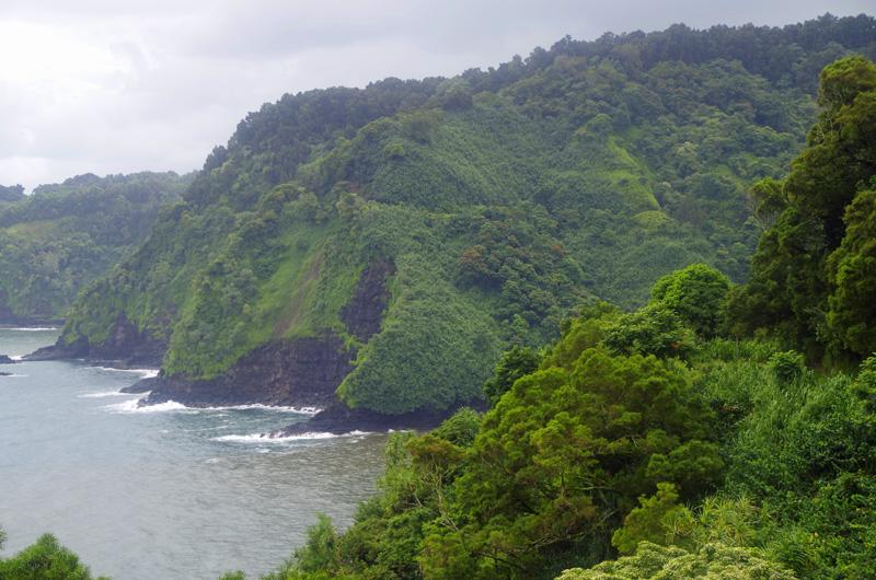 Eine Fahrt auf der Hana Road auf Maui, Hawaii, gehört zu den Highlights auf der Insel.