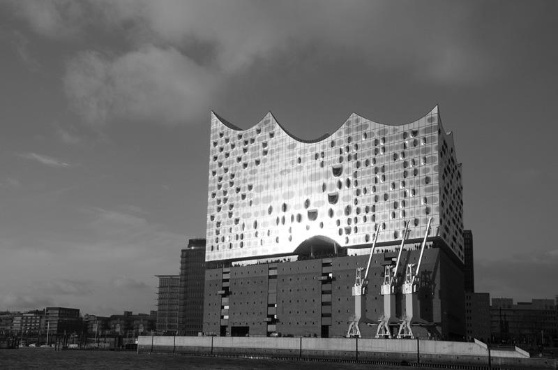 Hamburgs neues Wahrzeichen: die Elbphilharmonie.