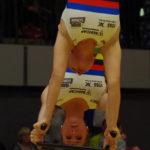 2er Kunstradsport: Die Weltmeisterinnen Nadja Thürmer (hinten) und Julia Thürmer (vorn) vom RV Mainz-Finthen gewannen bei den Deutschen Meisterschaften 2017 in Hamburg souverän den Titel.