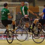Radball: Aufstiegsspiele zur Bundesliga im Rahmen der Hallenrad-DM in Hamburg 2017.