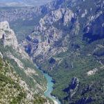 Der Grand Canyon du Verdon (Verdonschlucht) in der Provence zählt zu den tiefsten Schluchten in Europa.
