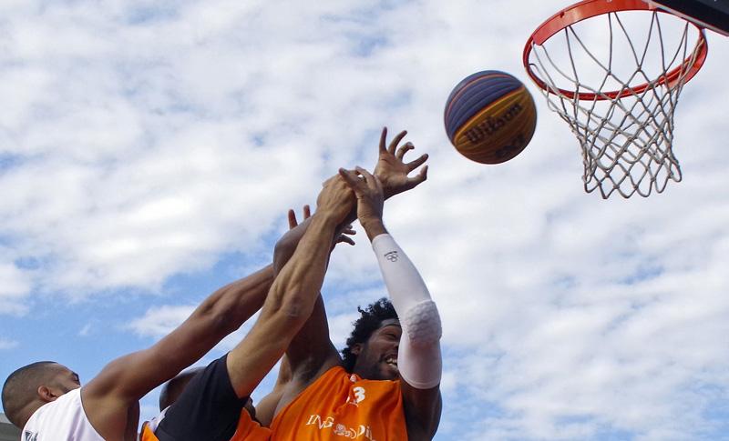 Deutsche Meisterschaften im 3x3-Streetbasketball in Hamburg. In diesem Wettbewerb werden bei den Olympischen Spielen in Tokio 2020 zum ersten Mal Medaillen vergeben.