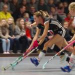 Vorbereitung auf die Hallenhockey-Weltmeisterschaft in Berlin 2018: Cécile Pieper (Mannheimer HC) bestritt mit der deutschen Damen-Nationalmannschaft (DANAS) ein Testspiel beim Bundesligisten Club an der Alster.