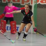 Vorbereitung auf die Hallenhockey-Weltmeisterschaft in Berlin 2018: Lea Stöckel (Rot-Weiss Köln) bestritt mit der deutschen Damen-Nationalmannschaft (DANAS) ein Testspiel beim Bundesligisten Club an der Alster.
